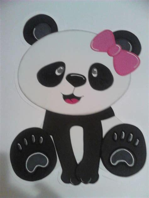 Dibujo en foam para pared fiesta temática de pandas para ...