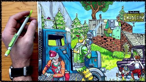 DIBUJO FORTNITE !! | FORNITE | Pinterest | Dibujo