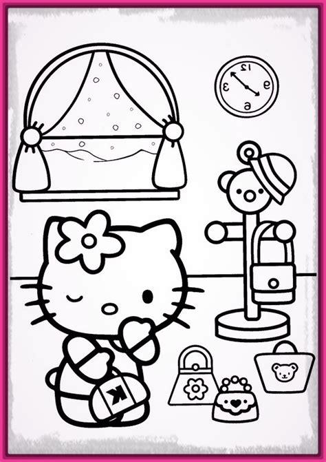 dibujo hello kitty para colorear e imprimir Archivos ...