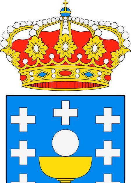 Dibujo HERÁLDICO: Escudo de Galicia