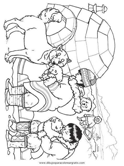 Dibujo igloo_esquimal en la categoria mixtos diseos