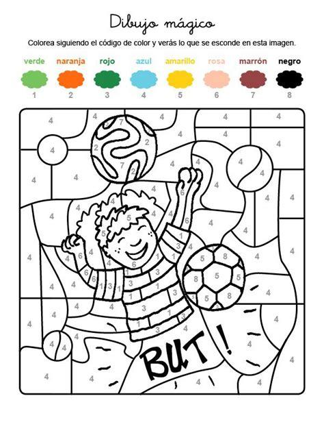 Dibujo mágico de un jugador de fútbol: dibujo para ...