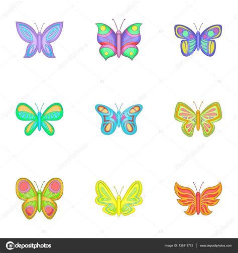 Dibujo Mariposa A Color