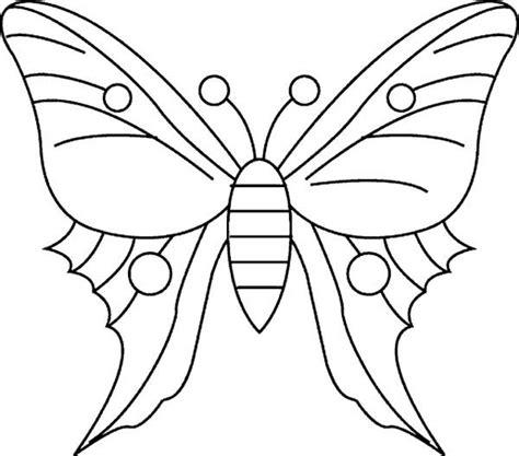 Dibujo Mariposas para Colorear en Línea e Imprimir ...