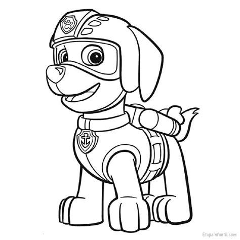 Dibujo para colorear de La Patrulla Canina: Zuma   Etapa ...