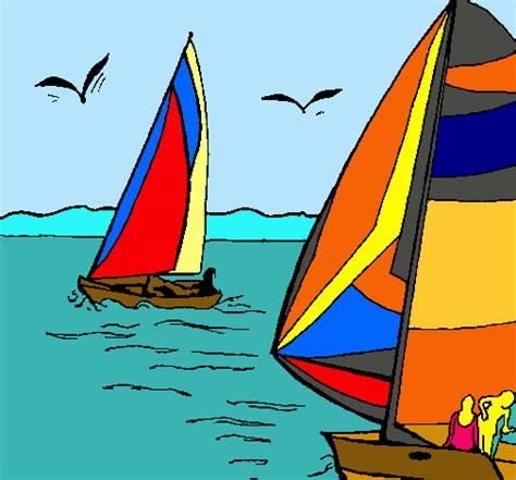 Dibujo Para Colorear De Un Barco En Alta Mar | Holidays OO