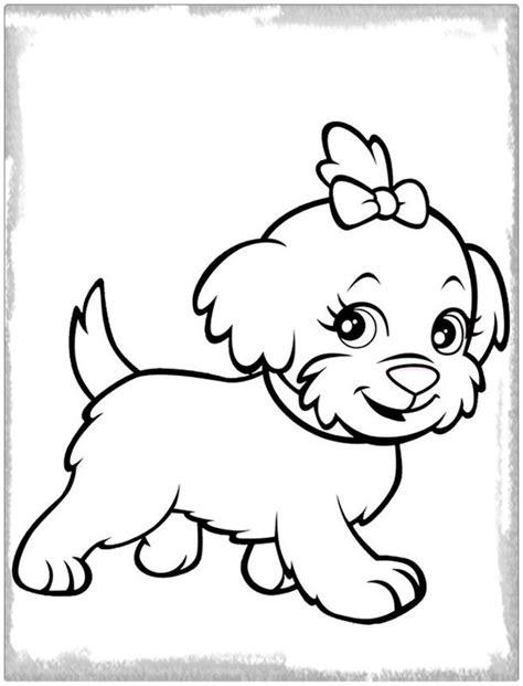 Dibujo para Colorear de Un Perro Hermoso | Imagenes de ...
