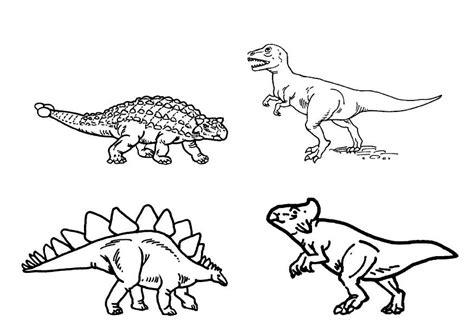 Dibujo para colorear Dinosaurios - Img 9101