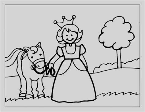 Dibujo Para Pintar En Linea De Princesa Muy Bonitos ...