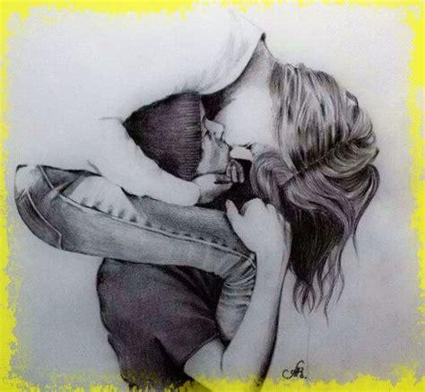 Dibujos A Lapiz De Enamorados Para Compartir | Frases Para ...