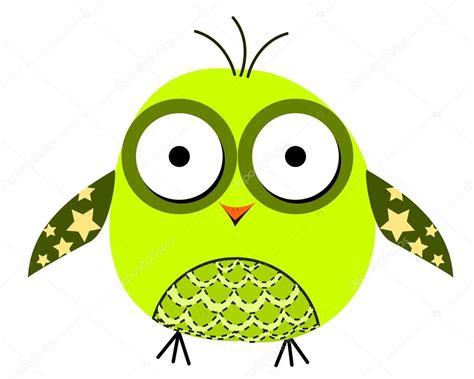 Dibujos animados de buhos alegres. 10 EPS — Vector de ...