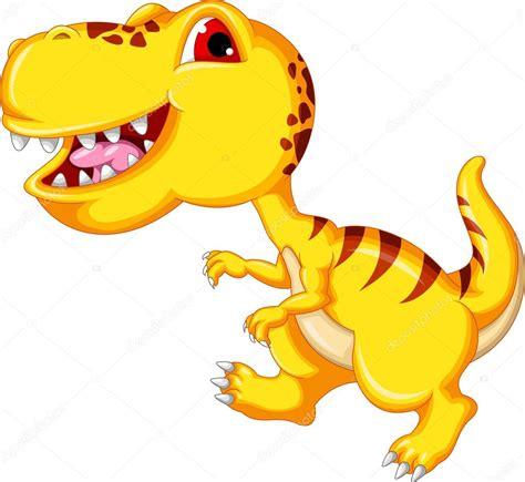 dibujos animados de dinosaurios — Vector de stock ...