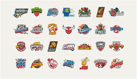 Dibujos animados de los 80´s convertidos en equipos de la NBA