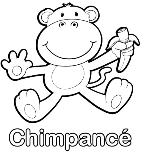 Dibujos animados de monos chistosos comiendo platanos - Imagui