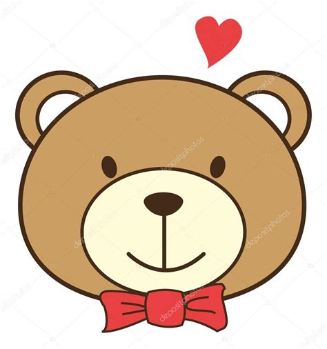 Dibujos animados de osos de amor — Archivo Imágenes ...