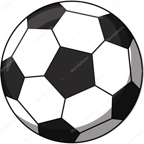 dibujos animados de pelota de fútbol — Vector de stock ...