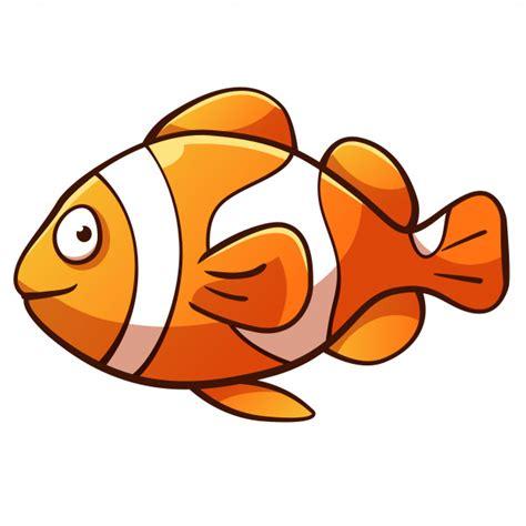 Dibujos animados de pez payaso | Descargar Vectores Premium