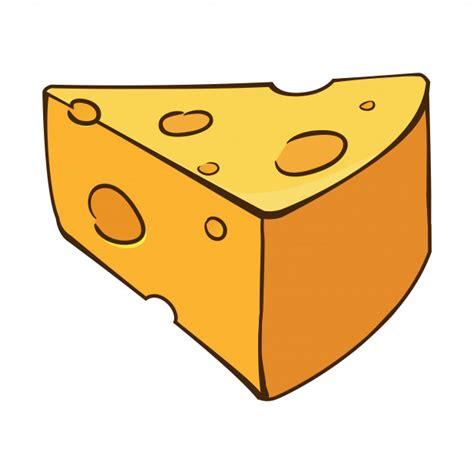 Dibujos animados de queso | Descargar Vectores Premium