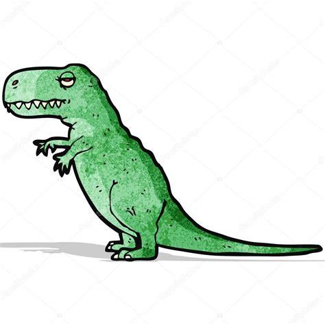 Dibujos animados de tiranosaurio rex — Archivo Imágenes ...