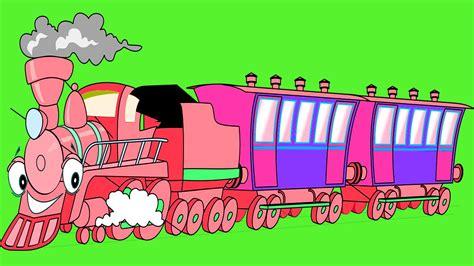 Dibujos animados en español   Trenes infantiles   El tren ...