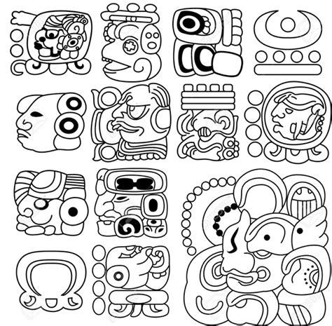 Dibujos astekas y mayas - Imagui