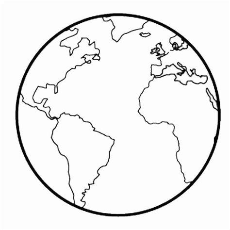 Dibujos bola del mundo para colorear - Imagui