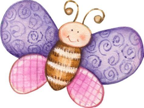 Dibujos coloreados mariposas para imprimir