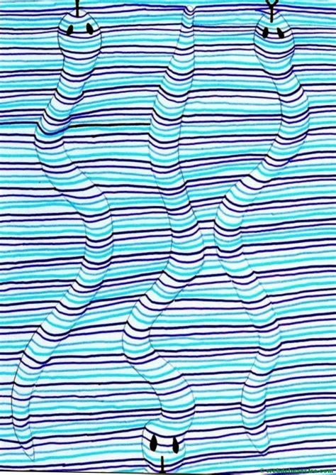 Dibujos con líneas | Dibujos en 3d para niños - Web del ...