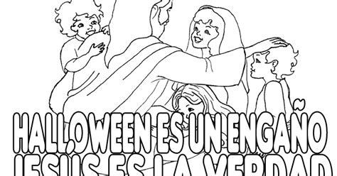 Dibujos Cristianos contra Halloween para colorear ...