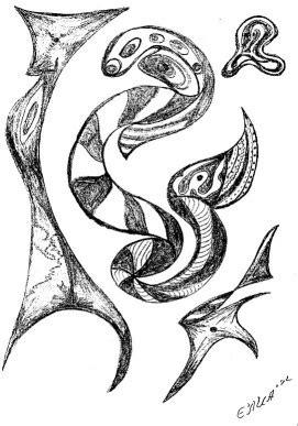 Dibujos de abstractos - Imagui