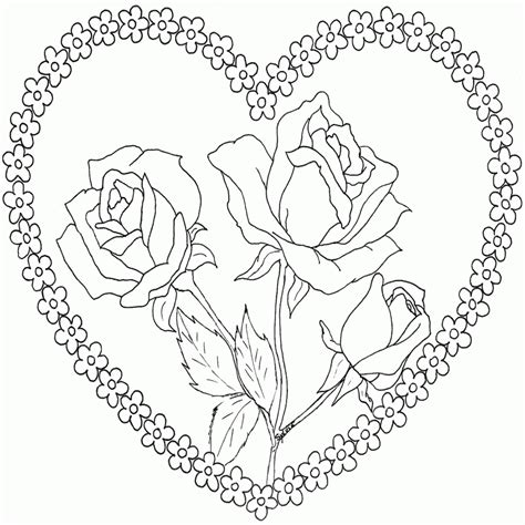 Dibujos De Amor 7 Dibujos Para Colorear | Colorear.website