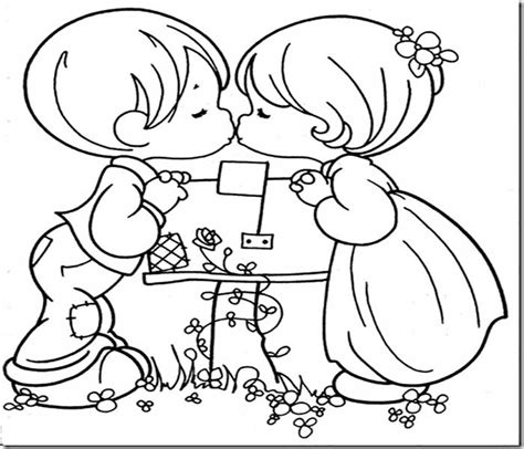 DIBUJOS de Amor Bonitos » DIBUJOS para Colorear