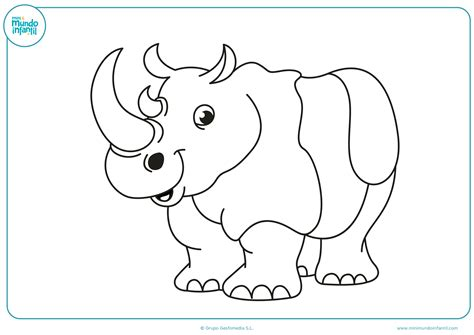 Dibujos de animales de la selva para colorear - Mundo Primaria