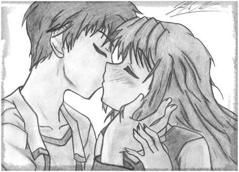 Dibujos De Animes Enamorados A Lapiz para Regalar ...