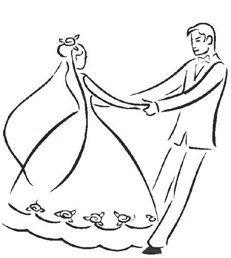Dibujos de bodas para descargar, imprimir y pintar ...