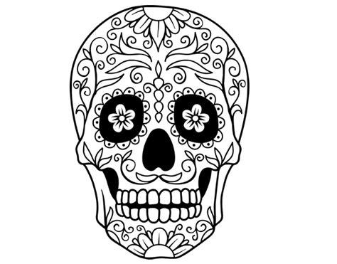 Dibujos de calaveras mexicanas para imprimir y pintar ...
