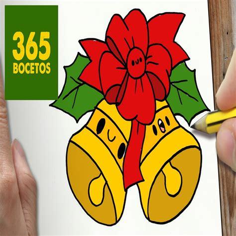 Dibujos De Campanas De Navidad A Color