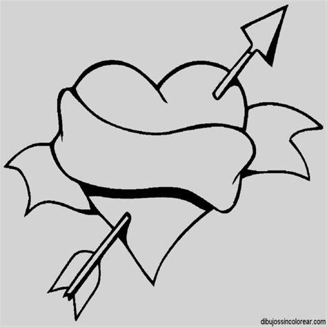 Dibujos De Corazones Con Alas Para Dibujar Y Colorear ...