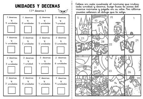 Dibujos de decenas y unidades - Imagui   COLEGIO ...
