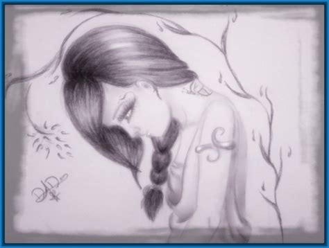 Dibujos De Emos Enamorados A Lapiz   Dibujos de Amor a Lapiz