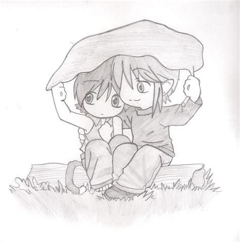 Dibujos De Enamorados A Lapiz | www.imgkid.com   The Image ...