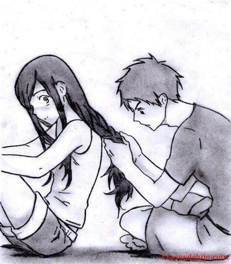 dibujos de enamorados abrazados a lapiz faciles   Buscar ...