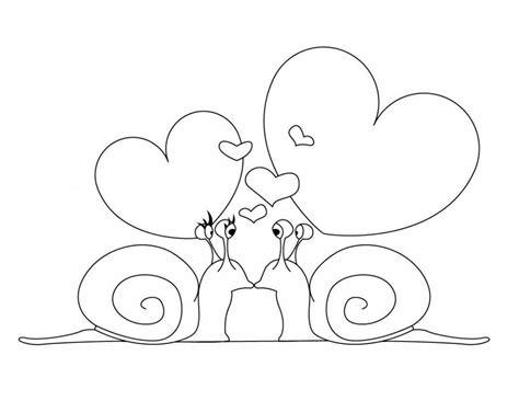Dibujos De Enamorados Para Colorear. Simple Imagenes De ...