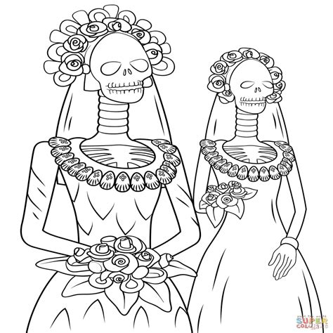 Dibujos De Esqueletos Para Colorear E Imprimir