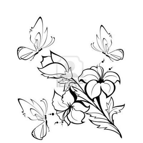 Dibujos de flores | Dibujos para pintar de rosas | Fondos ...