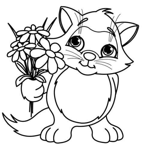 Dibujos Para Colorear De Flores Seonegativo Com