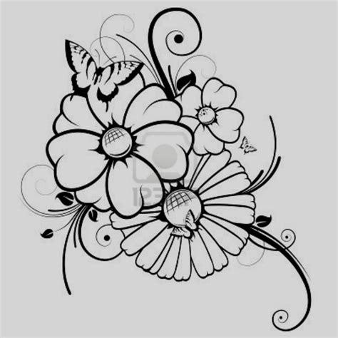 Dibujos De Flores Para Colorear Dibujo Flor Ni Os Y Pintar ...