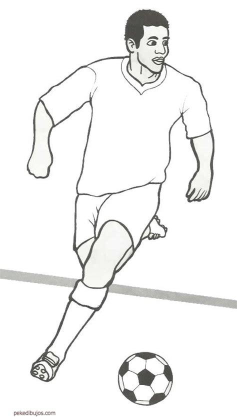 Dibujos de futbolistas famosos para colorear