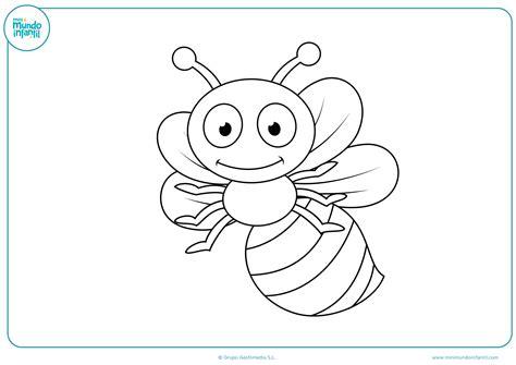 Dibujos de insectos para colorear   Mundo Primaria