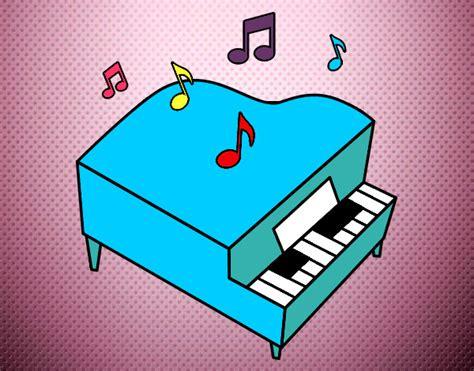 Dibujos de Instrumentos musicales para Colorear - Dibujos.net